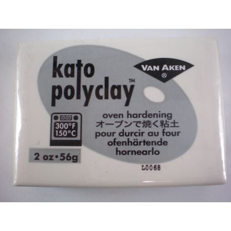 Kato Polyclay 56g - Blanco - White