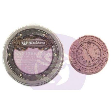 Finnabair Metallique Wax - Sweet Rose