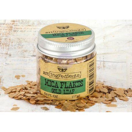 Art Ingredients - Mica Flakes: Gold Leaf 17g