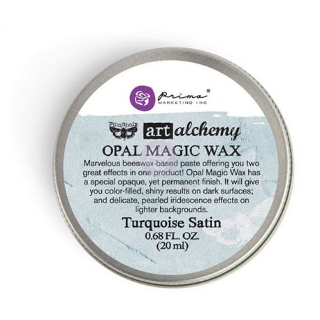 Art Alchemy - Cera Opal Magic Wax - Turquoise Satin