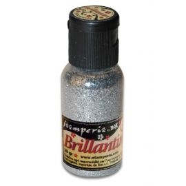 Purpurina Brillantini Plata 20gr