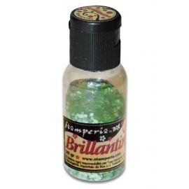 Purpurina Brillantini Verde esmeralda 20gr