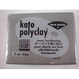 Kato polyclay Arcilla polimérica Plata 56gr