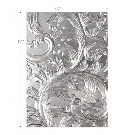 Sizzix Placa de textura 3D TEXTURED IMPRESSIONS Elegant