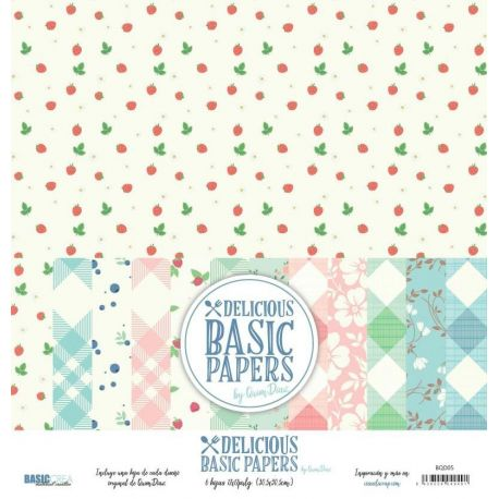 "Colección ""Delicious Basic Papers"" de Quim Díaz"