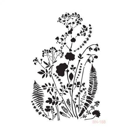 Stencil Cadence 25x36cm Vegetales