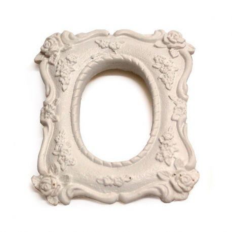 Marco de resina rectangular LES PETITS Romántico 8,2x6,5cm