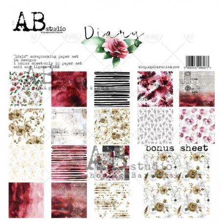 DIARY AB STUDIO 30X30 8 UND.