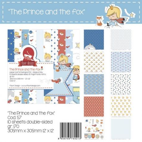 """Paper Pad """"The Prince and the Fox"""""""