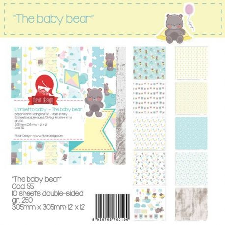 """Paper Pad """"The Baby Bear"""""""