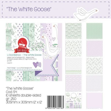 """Paper Pad """"The White Goose"""""""