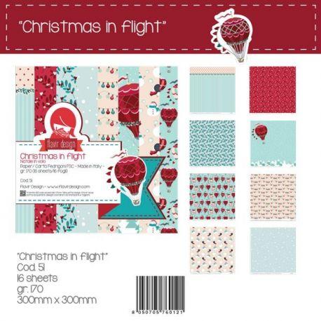 "Paper Pad ""Christmas in Flight"""