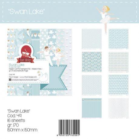 """Paper Pad """"Swan Lake"""" Peq."""