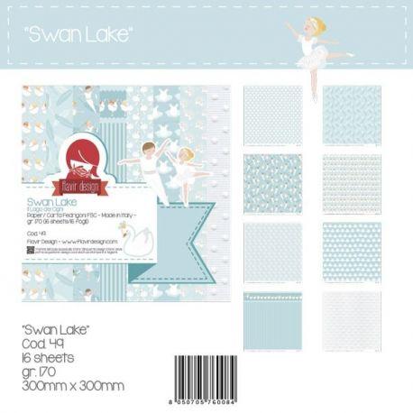 """Paper Pad """"Swan Lake"""""""