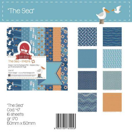 """Paper Pad """"The Sea"""" Peq."""