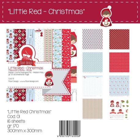 """Paper Pad """"Little Red Christmas"""""""
