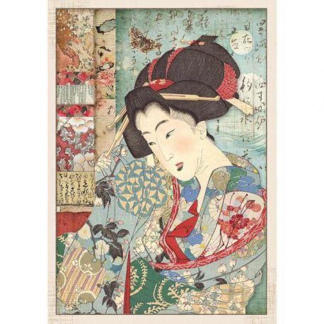 """Papel de arroz Alta calidad A4 """"Geisha"""""""