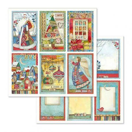 Papel de Scrap Stamperia Christmas Cards