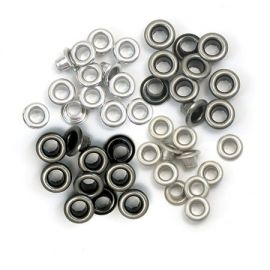 "Ojales pequeños 1/8"" - 0.31cm metalic cool We-R"