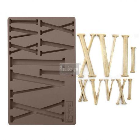 REDESIGN DÉCOR MOULDS® - NUMERALS 5″X 8″ 8 MM