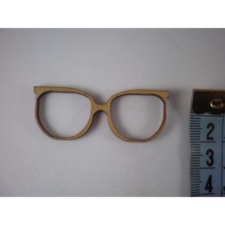 Silueta gafas