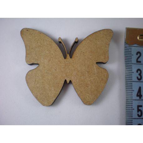 Silueta mariposa lisa