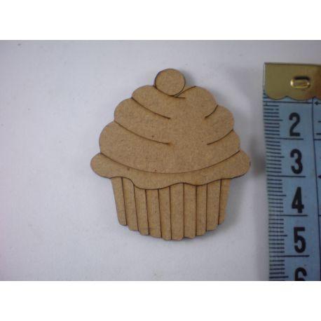 Silueta muffin grande