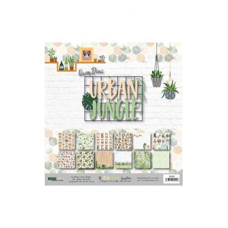 """""""Urban Jungle"""" 6 papeles para Scrap by Coses d'Scrap"""