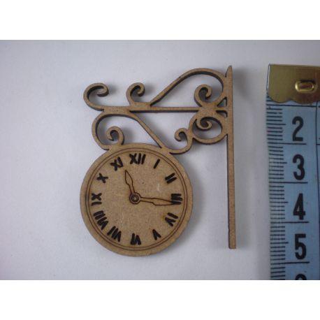 Silueta reloj estación