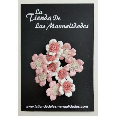 LTM Handmade Flowers - Pink Minis