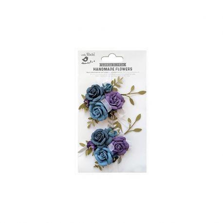 Little Birdie - Handmade Flowers - ARION PURPLE PASSION