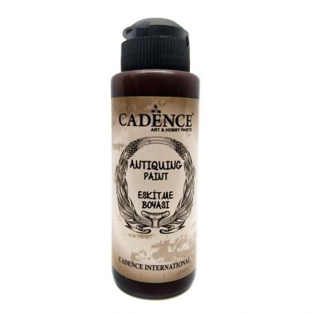 Antiquing Paint MARRÓN OSCURO Cadence 120ml