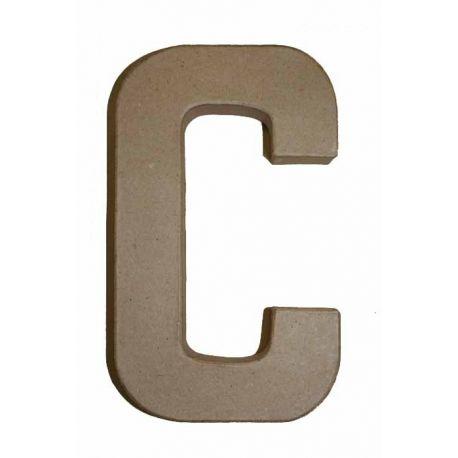 "Letra de cartón 10cm ""C"""