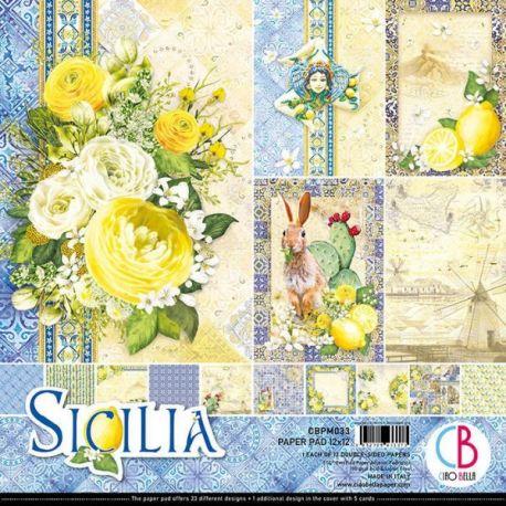 Set 12 papeles Ciao Bella Sicilia