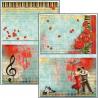 Set 9 hojas de Etiquetas Ciao Bella Tango