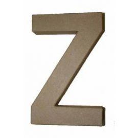 """Letra de cartón 10cm """"Z"""""""
