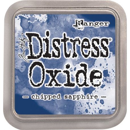 Tinta Distress Oxide Chipped Shappire