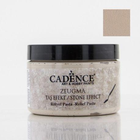Pasta Relieve ZEUGMA Efecto piedra Cadence 150ml Tritón