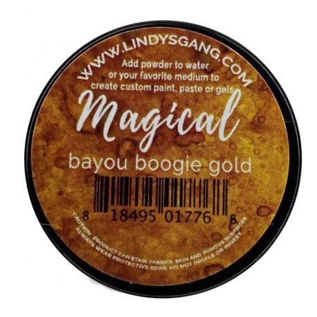 Bayou Boogie Gold Magical Jar