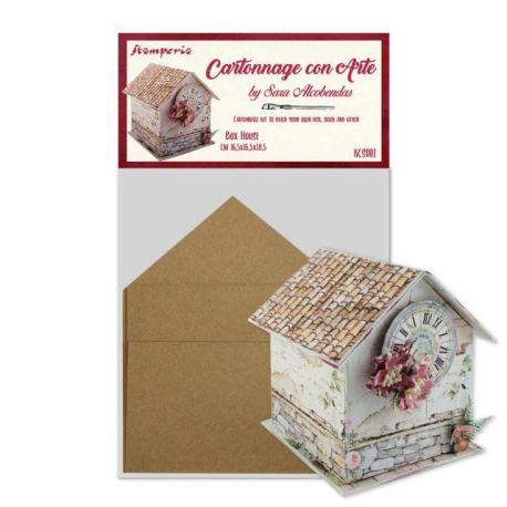 """Set de Cartonaje Sara Alcobendas """"Box House"""""""