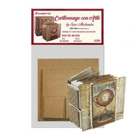 """Set de Cartonaje Sara Alcobendas """"Royal Box and Book"""""""