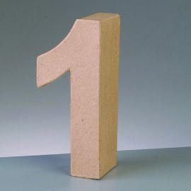"Número de cartón Varios tamaños ""1"""