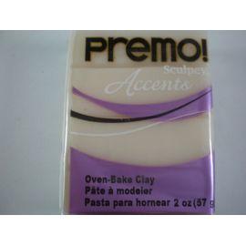 Arcilla polimérica Premo Accents Translucent 56gr