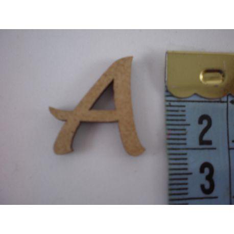 """Letra adhesiva de DM mayúscula  """"A""""  22mm"""