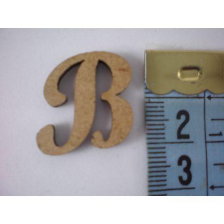 "Letra adhesiva de DM mayúscula ""B"" 22mm"