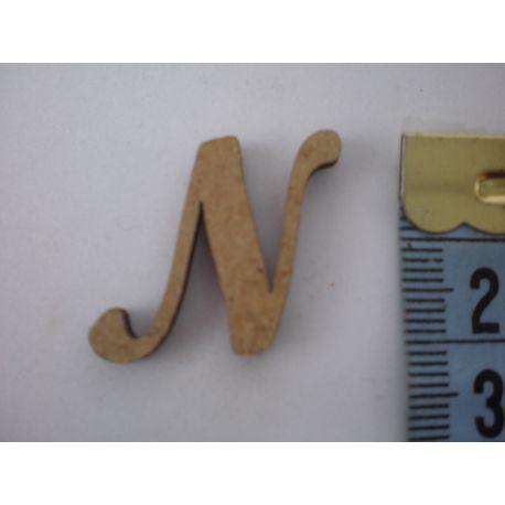 "Letra adhesiva de DM mayúscula ""N"" 22m"