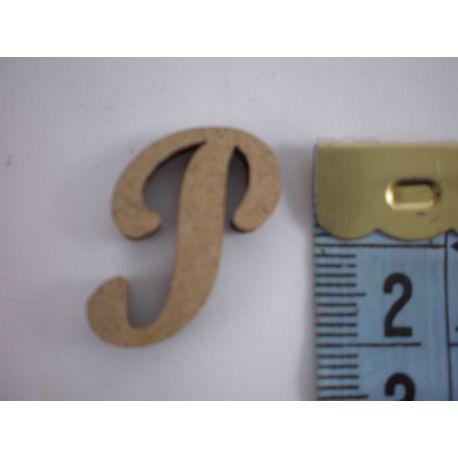 "Letra adhesiva de DM mayúscula ""P"" 22m"