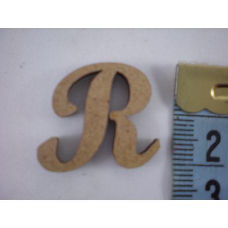 """Letra adhesiva de DM mayúscula """"R"""" 22m"""