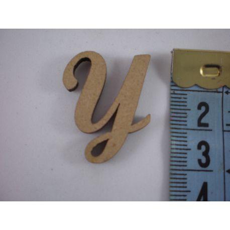 """Letra adhesiva de DM mayúscula """"Y"""" 22m"""