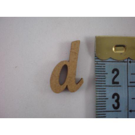 """Letra adhesiva de DM minúscula """"d"""" 14m"""